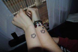 puzzle matching tattoo